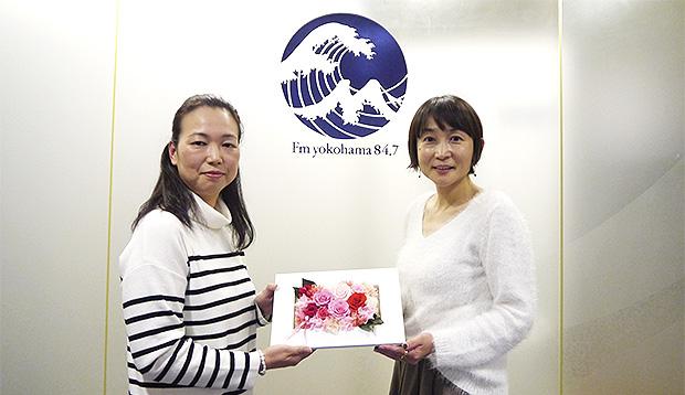 Estore × FM YOKOHAMA#20<br/>プリザーブドフラワー専門店「花RiRo」の高見さん